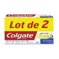 Dentifrice - Gel Pour Les Dents 2 Dentifrices Total Blancheur - 75 ml
