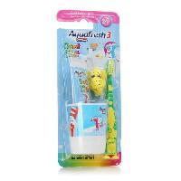 Dentifrice - Gel Pour Les Dents AQUAFRESH Kit brossage dent de Lait