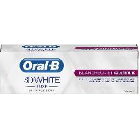 Dentifrice - Gel Pour Les Dents ORAL B 3D White Luxe Éclat et Glamour75ml