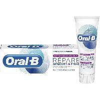 Dentifrice - Gel Pour Les Dents ORAL B Dentifrice Répare gencives et émail Nettoyage doux - 75 ml