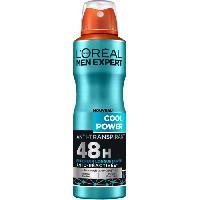 Deodorant Corporel - Pierre D Alun L'ORÉAL MEN EXPERT Cool Power Déodorant Spray Homme Anti-transpirant - 200 ml - L'oreal Men Expert