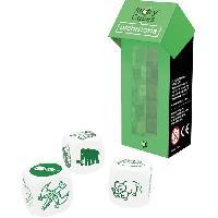 Des - Jeu De Des ASMODEE - Story Cube MIX Prehistoire - Pack Vert - Jeu de societe
