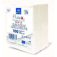 Desinfectant Medical Compresses non tissee 40g - 10 x 10 cm - Non sterile - Boite de 100 - Lch