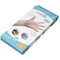 Desinfectant Medical Gants Soft Thermo Plastique Elastomere XL x 100