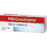 Desinfectant Medical Mercurochrome Gel a l'arnica 75ml