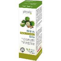 Desinfectant Medical Physalis huile vegetale Ricin 100 ml Bio - Aucune