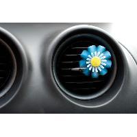 Desodorisant Auto - Parfum Auto 1 Desodorisant Fleur Bleu Lavande