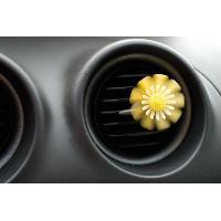 Desodorisant Auto - Parfum Auto 1 Desodorisant Fleur Jaune Vanille