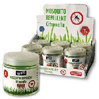 Desodorisant Auto - Parfum Auto 1x Desodorisant anti-moustique SMELLetDRIVE Citronelle 80gr