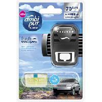 Desodorisant Auto - Parfum Auto 6x Desodorisants Open sky - Fresh Escapes - 70 jours - Ambi Pur