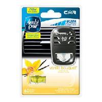 Desodorisant Auto - Parfum Auto 6x Desodorisants Vanille - Fresh Escapes - 70 jours - Ambi Pur