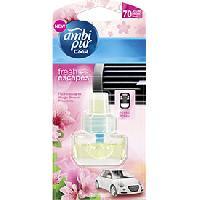 Desodorisant Auto - Parfum Auto 6x Recharge Desodorisant Fleur naissante - Fresh Escapes - 70 jours - Ambi Pur