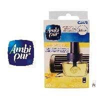 Desodorisant Auto - Parfum Auto 6x Recharges AMBI PUR - Vanille