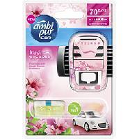 Desodorisant Auto - Parfum Auto Desodorisant Fleur naissante - Fresh Escapes - 70 jours - Ambi Pur