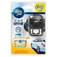 Desodorisant Auto - Parfum Auto Desodorisant + Recharge Anti-Tabac - Ambi Pur