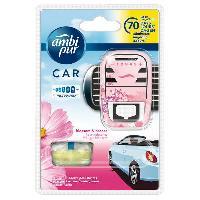 Desodorisant Auto - Parfum Auto Desodorisant + Recharge BLOSSOM - Ambi Pur