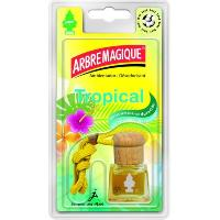 Desodorisant Auto - Parfum Auto Desodorisant bottle Tropical - Arbre Magique