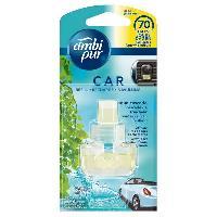 Desodorisant Auto - Parfum Auto Recharge Desodorisant AQUA - Ambi Pur