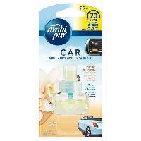 Desodorisant Auto - Parfum Auto Recharge Desodorisant VANILLA x6 - Ambi Pur