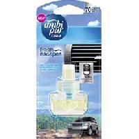 Desodorisant Auto - Parfum Auto Recharge Open sky - Fresh Escapes - 70 jours - Ambi Pur