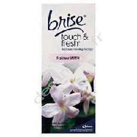 Desodorisant Interieur - Parfum D'interieur BRISE Recharge désodorisant intérieur Touch et Fresh - Senteur Jasmin - 10 ml