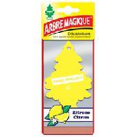 Desodorisants 12 Desodorisants citron Arbre Magique