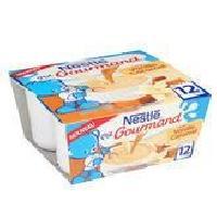 Dessert Lacte - Yaourt Au Lait Infantile P'Tit Gourmand Vanille Caramel 4x100 gr