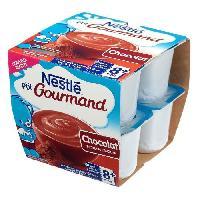 Dessert Lacte - Yaourt Au Lait Infantile Ptit gourmand au chocolat - 8 x 100 g