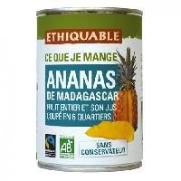 Desserts - Aide Patisserie Ananas entier Bio - 425g