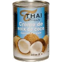 Desserts - Aide Patisserie Creme de noix de coco