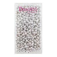 Desserts - Aide Patisserie DRAGEES DE FRANCE Perles de sucre - Argentees N 6 - 250 g