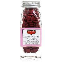 Desserts - Aide Patisserie ERIC BUR Coeurs de Sucre Bordeaux 85g