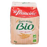 Desserts - Aide Patisserie FRANCINE Farine de blé bio - Generique