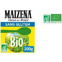 Desserts - Aide Patisserie MAIZENA Fleur de mais bio - Sans gluten - 200 g