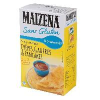 Desserts - Aide Patisserie MAiZENA Preparation pour crepes - Sans gluten - 510g