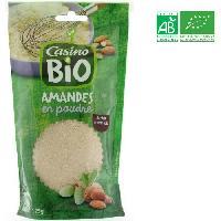 Desserts - Aide Patisserie Poudre d'amande Bio - 125 g - Generique