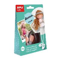 Dessin - Coloriage APLI Boite kit creatif Ballerine