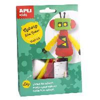 Dessin - Coloriage APLI Cyborg le robot Boite kit creatif