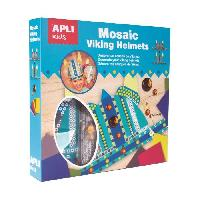 Dessin - Coloriage APLI Kit 2 casques de viking