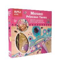 Dessin - Coloriage APLI Kit 2 diademes de princesse