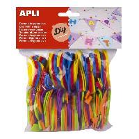Dessin - Coloriage APLI Sachet de 120 chiffres En mousse - Couleurs assorties