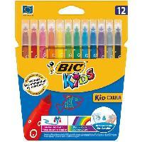 Dessin - Coloriage BIC Kids Kid Couleur 12 Feutres de Coloriage