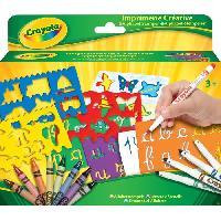Dessin - Coloriage Crayola - IMPRIMERIE CREATIVE - Activites pour les enfants