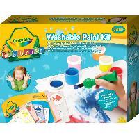 Dessin - Coloriage Crayola - Mini Kids - Mon 1er kit de peinture - Coloriage pour enfant et tout petit Minikids