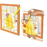 Dessin - Coloriage DISNEY PRINCESSES Color-3d - Modele Belle Lansay