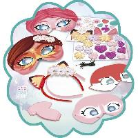 Dessin - Coloriage ENCHANTIMALS Mes Serre-Tetes Et Masques Creatifs Lansay