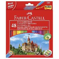 Dessin - Coloriage FABER-CASTELL Etui de 48 Crayons de couleur château - Coloris assortis