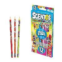 Dessin - Coloriage GOLIATH Scentos - Pencils
