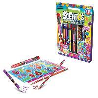 Dessin - Coloriage Goliath - Scentos Creative Set - Loisir créatif - Coloriage