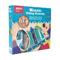 Dessin - Coloriage Kit 2 casques de viking